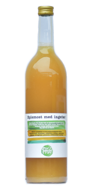 Eplemost med ingefær 0,74 l